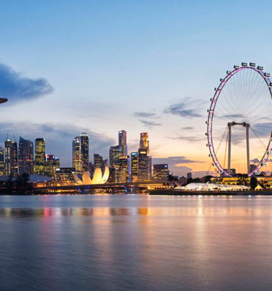 A arquitetura futurística de Cingapura