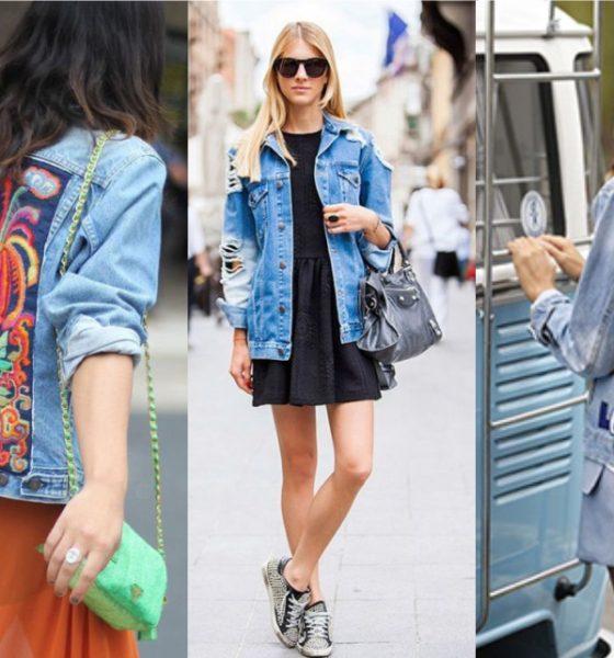 10 dicas para renovar sua clássica Jaqueta Jeans